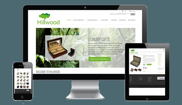 nifty website design Hillwood Website