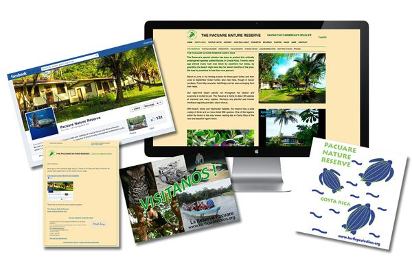 nifty website design Portfolio Page Pacuare Reserve Website